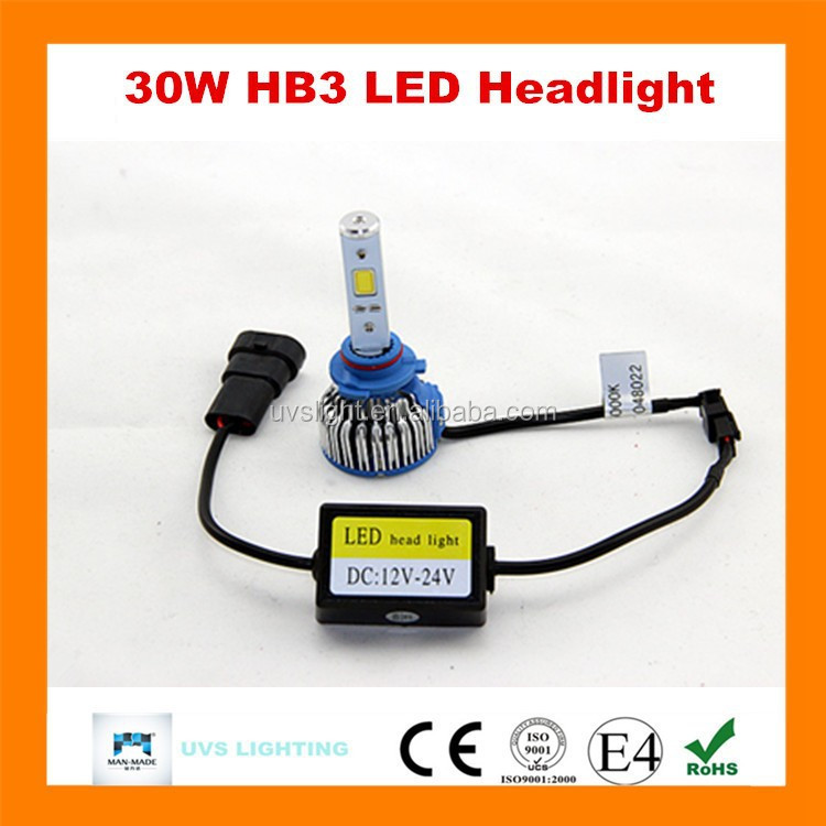 Guangzhou Motorcycle bulb led auto 30w 3600lm h4 H7 9006 Led Car Headlight