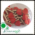 Wooden Clothes Peg with heart
