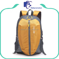 210D polyester school bags trendy backpack