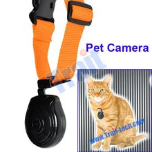 2012 New USB 2.0 Mini LCD Digital Pet Eye View Camera Dog Cat Collar Video Camera/ DVR