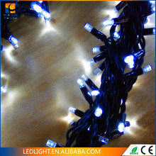 waterproof IP44 connectable extendable PVC wire multi-color LED garland LED string light CE ROHS Certificate