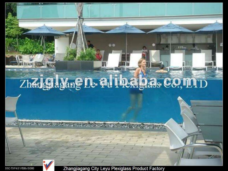 Cast Acrylic Sheet for Swimming Pool