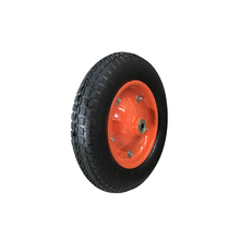 Heavy duty inflatable small wheel barrow pneumatic wheels