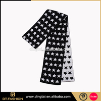 Customizable top sale cheap fashion winter crochet beaded scarfs
