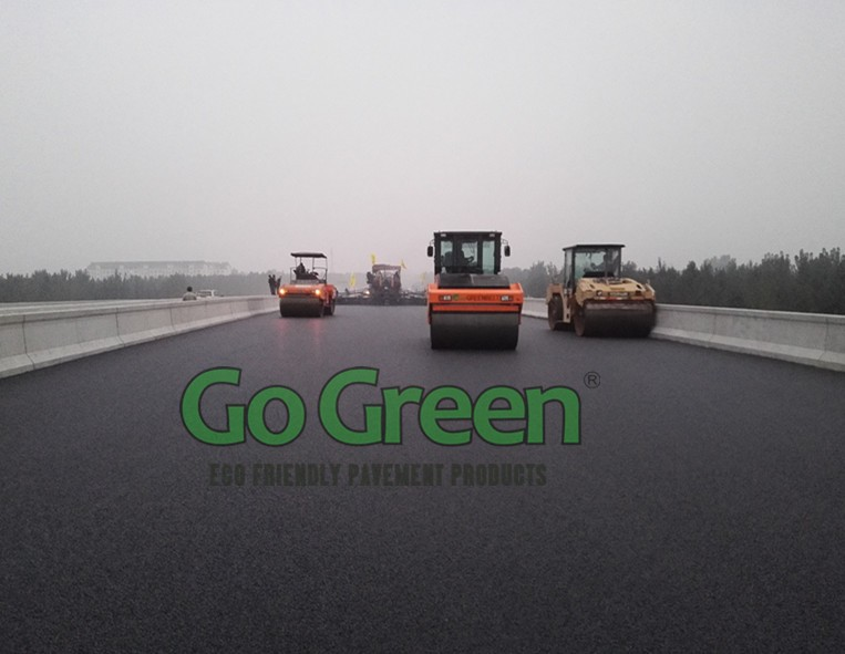 Go Green High Viscosity Asphalt Modifier for modified asphalt
