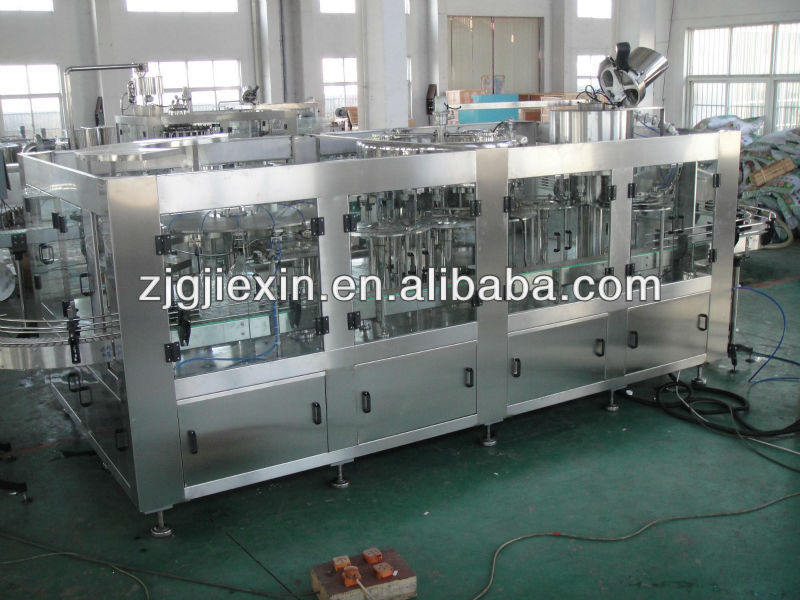 Pet bottle filling line