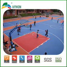 vmkon outdoor athletic event interlocking floor tile plastic mat assembly vha-303015