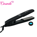 New Products 2018 Global Beauty Digital Hair Straightening Iron Flat Iron Ceramic Hair Straightener With Dual Voltage