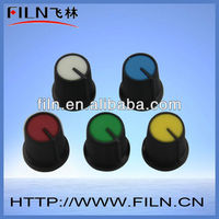 round colourful plastic slide potentiometer knob 6mm