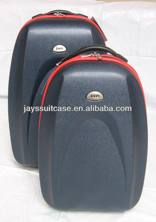 JAYS 2pcs/set ABS Material Zipper Luggage Sets 20/23inch