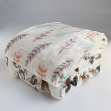 100% polyester printed soft warm thick flannel fleece korean arab dubai throw mink blankets china