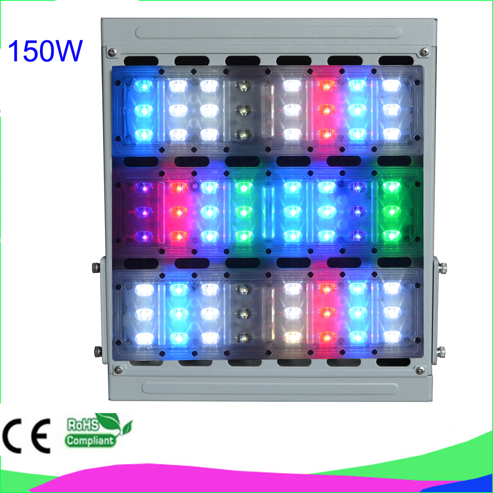 Timing and dimming 5 years warranty IP65 150W LED aquarium light