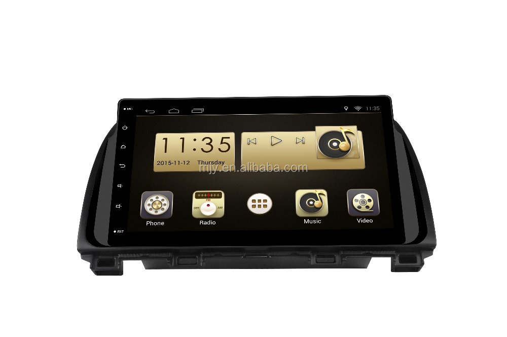 Large Screen Car GPS DVD navigation for Mazda CX-5