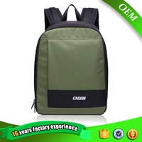 Wholesale black waterproof nylon camera man backpack bag