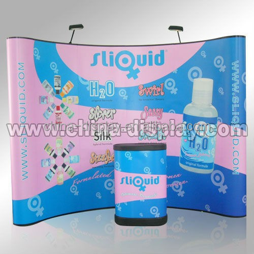Exhibition Magnetic Pop Up Banner Display PVC Wall Panel