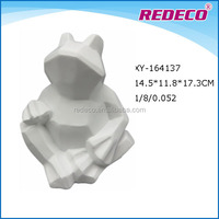 OEM decorative resin frog figurine
