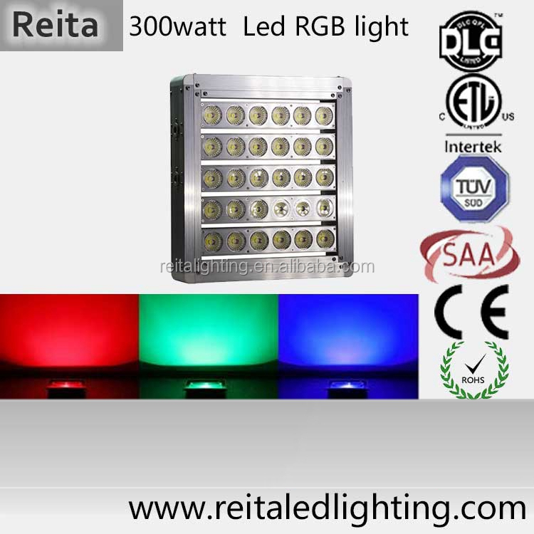 high speed flexible Espitar chip 300W DMX control rgb digital led light fixture
