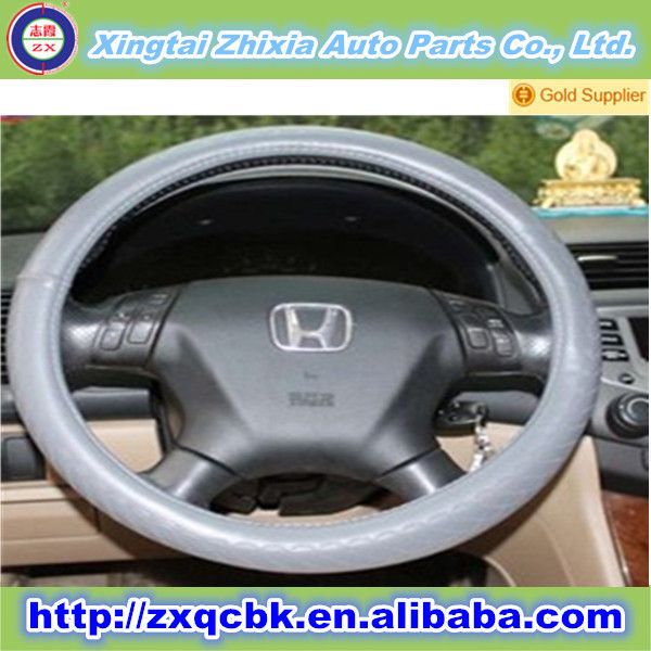 Wholesale PU car steering wheel cover/ heated steering wheel covers/China manufacturers