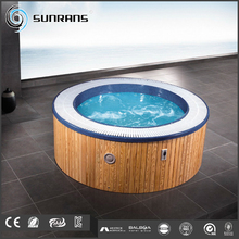 fashion garden high quality spring round hot tub for hotel massage indoor or outdoor spa