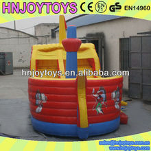HNJOYTOYS pirate ship manufacturer, inflatable pirate ship, children pirate ship playground