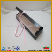 custom good quality hair extension packaging boxes