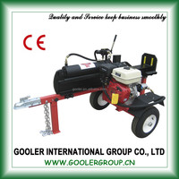 20t small hydraulic wood splitter with CE