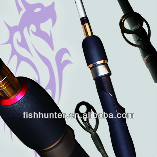Wholesale Carbon Fiber Bass Fishing Rod Spinning Fishing Rod LRBS2-702M