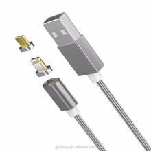 Hot Strong 2 in 1 Magnetic Charging Cable Micro USB Data Cable for Android Smart Phones