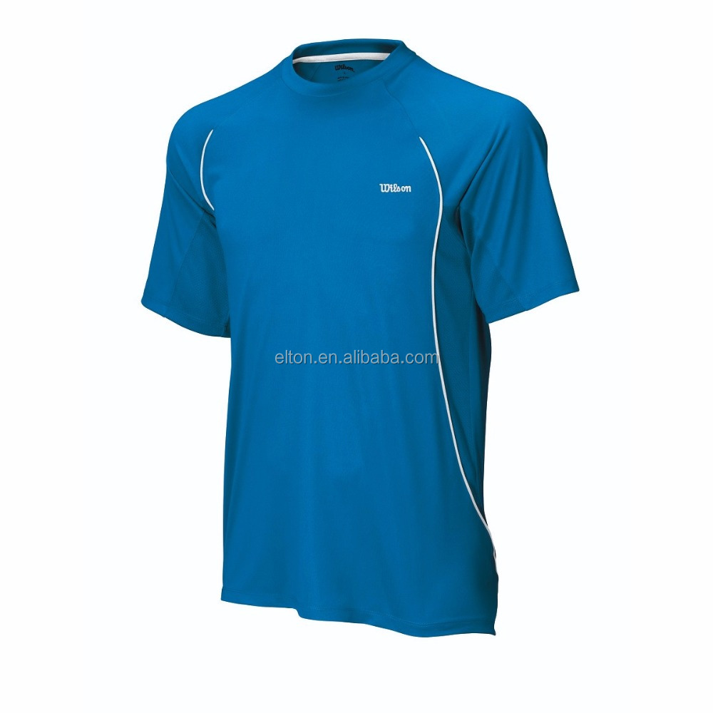 Sports streamlined fashion men 's tennis T - <strong>shirt</strong>