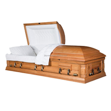 Perfect quality funeral vessel embellished with hand carved detail bargain price casket