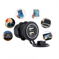 Wholesale 2 Dual Port Smart USB 5V 3.1A Mobile Phone Car Charger for iPhone GPS Camera