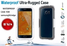 High quality Waterproof ultra-rugged Phone Case for samsung s6 lightweight cover for mobile phone