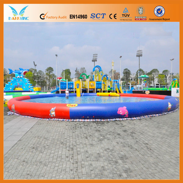 Large square inflatable pools for adults/inflatable pool float for sand
