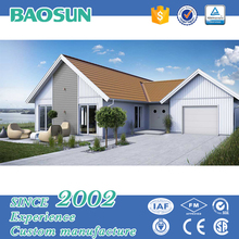 fast contruction light steel frame prefabricated villa high quality prefab hot sell home