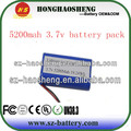 China shenzhen manufacture li-ion 18650 3.7v 1S2P 5200mah battery pack for self balancing scooter
