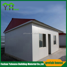 Low cost stable slope roof prefab modular luxury villa homes