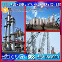 Coal tar deep refining processing line equipment