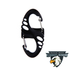 Plastic 8-Shaped Carabiner Clip Snap hook
