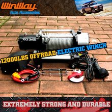 12000LBS OFF ROAD 4X4 ELECTRIC WINCH