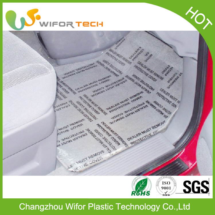 China Supplier PE Adhesive High Adhesion Automotive Protective Film