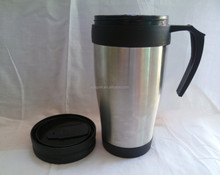 Wholesale New Product 450ml coffee cup acrylic drinkware stainless steel water bottle