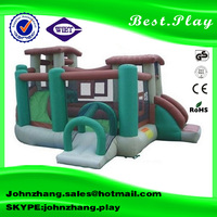 2016 Promotion popular inflatable combo, commercial bounce houses for sale, inflatable amusement park
