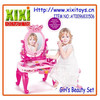 Kids B/O dressing table toy with music and light girls play set