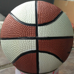 Customized Cheapest rubber basketball made in china