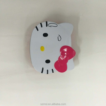hello kitty Shaped lipstick metal tin box for sale