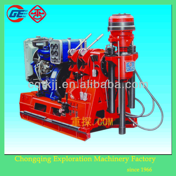2014 Newly XY-2PC Powerful Used Portable Water Well Drilling Rigs For Sale