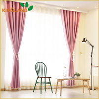 New Fashion Product Hot Selling Readymade Fabric Curtains For Blackout