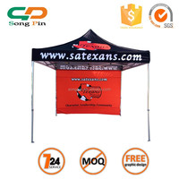 3x3 Stretch tent manufacturer china heavy duty roof top tent with full side wall