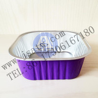 Colourful Aluminum foil food tray factory price
