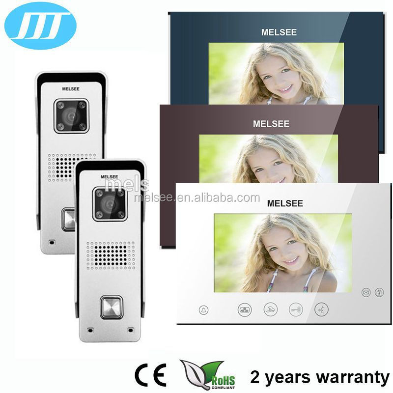 2016 popular nice villa utility door access HD video intercom security gate phone